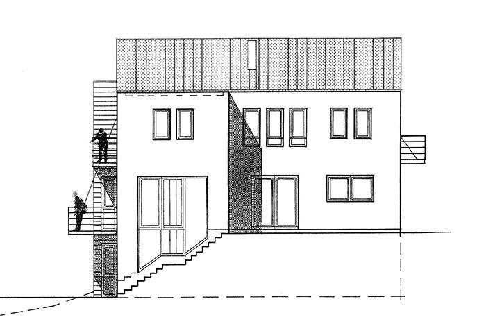 Haus K1   Ansicht 4