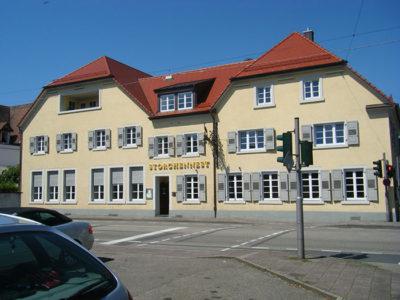Umbau Gasthaus Storchennest Rastatt