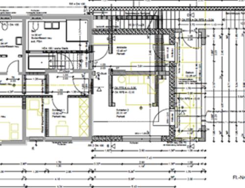 Umbau Zweifamilienhaus Rastatt – Plittersdorf