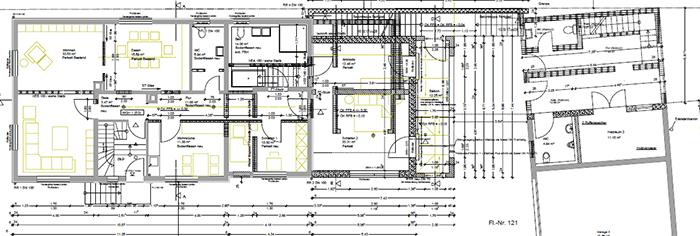 Umbau Zweifamilienhaus Rastatt