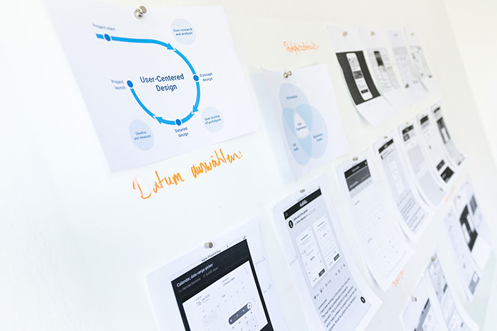 Print, Web, Kommunikation