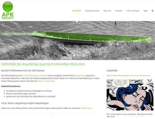 Website für APK Rastatt