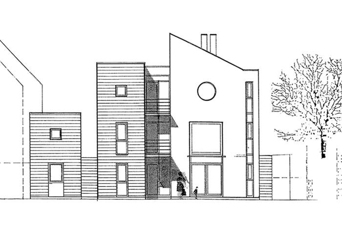 Haus K1   Ansicht 1