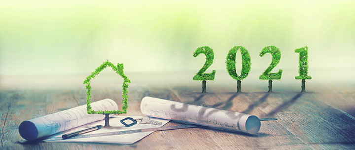 """2021, maison verte"" | guy / stock.adobe.com"
